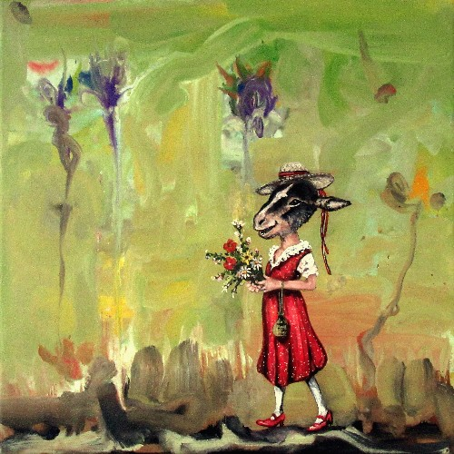 Ragone Reichardt<strong>Where have all the flowers gone</strong>2019, 40x40cm